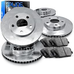 [COMPLETE KIT] eLine Replacement Brake Rotors & Ceramic Brake Pads