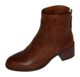 Franco Sarto Boots Women's Sz 5 M Bootie Leather Boots Brown A381963