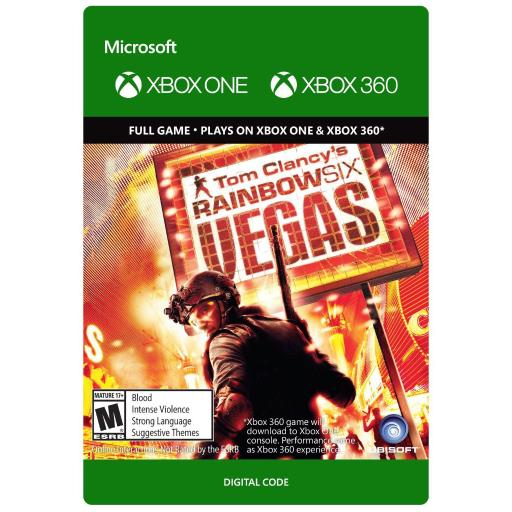 Xbox One Rainbow Six Vegas - Digital Download Card Video