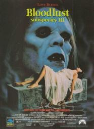 Bloodlust Subspecies III Movie Poster (11 x 17) MOVAB01290