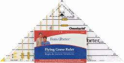 "Fons & Porter Super Flying Geese Ruler 1""X2"" To 4""X8"""