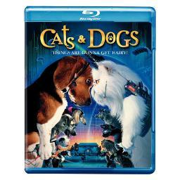 Cats & dogs (blu-ray/ff-16x9/eng-sp-fr sub) BR124301