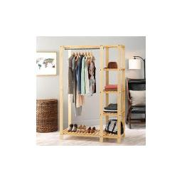 Whitmor 6301-5244 slat wood wardrob