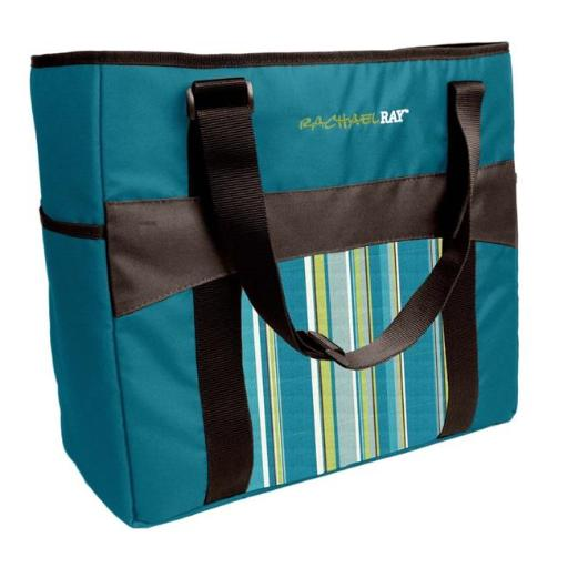 Medport 5070RR1638C Rachael Ray Chill Out 2 Go Deluxe Thermal Tote, Blue 88D28E3CA57FBE81