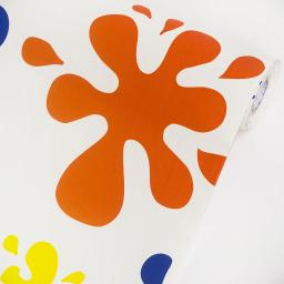 Color Splashes  - Vinyl Self-Adhesive Wallpaper Prepasted Wall Decor (Swatch)