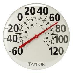 Taylor 681 18 Metal Thermometer