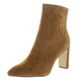 Chinese Laundry Womens Erin Microsuede Glitter Ankle Boots
