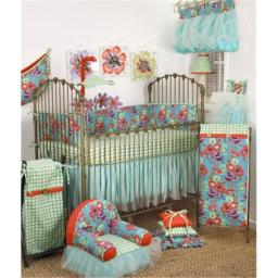 Cotton Tale LG8S Lagoon Collection Crib Bedding Set, 8 Piece