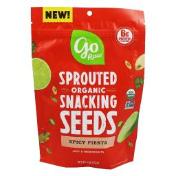 Go Raw - Sprouted Organic Snacking Seeds Spicy Fiesta