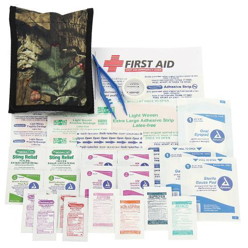 Orion safety products orion wilderness basic first aid kit 775
