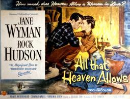 All That Heaven Allows Rock Hudson Jane Wyman 1955. Movie Poster Masterprint EVCMSDALTHEC079HLARGE