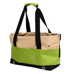 Iconic Pet 51714 FurryGo Pet Sports Handbag Carrier, Lime Green