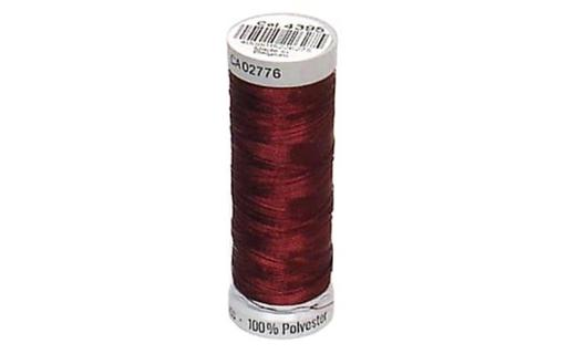 Gut749605 4395 gutermann decor metallic 200m burgundy wine