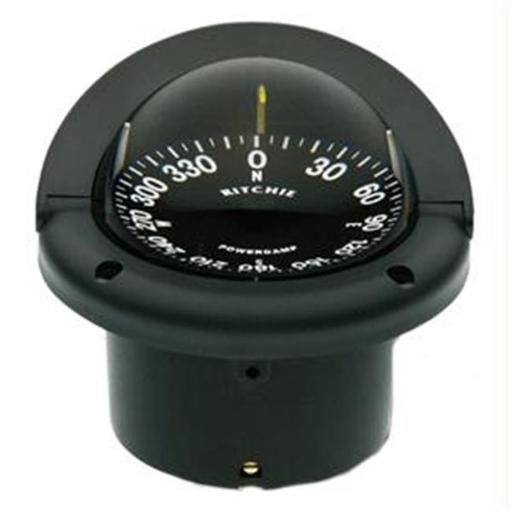 Ritchie Compass HF-742 Flush Mount Helmsman - Black