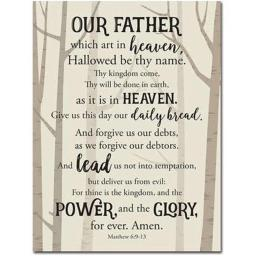 African American Expressions 18126X Lords Prayer Wall Plaque