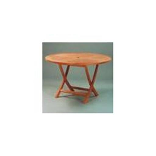 Anderson Teak TBF-047R 47 Inch Round Folding Table