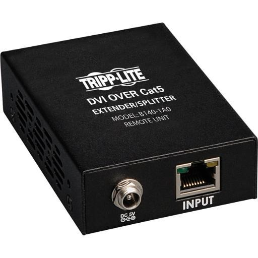 Tripp lite b140-1a0 dvi over cat5/cat6 active video extender remote video receiver 1920 x 1080 200 f