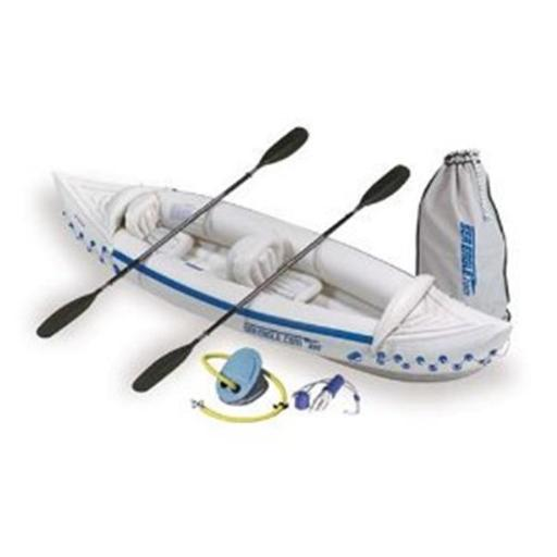 Sea Eagle Boats SE330K-D SE330 Sport Kayak Deluxe Package