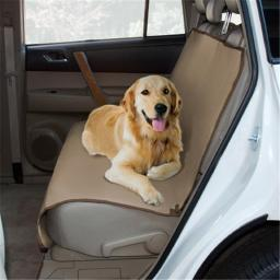 Yes Pets 59-90041TAN Oxford Waterproof, Tear Proof Bench Style Car Seat Cover - 100 Percent Polyester, Tan