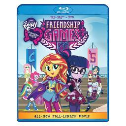 My little pony equestria girls friendship games (blu-ray/dvd combo) BRSF16024