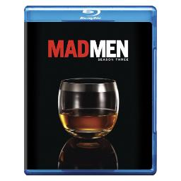 Mad men-3rd season (blu-ray/3 discs) BR26272