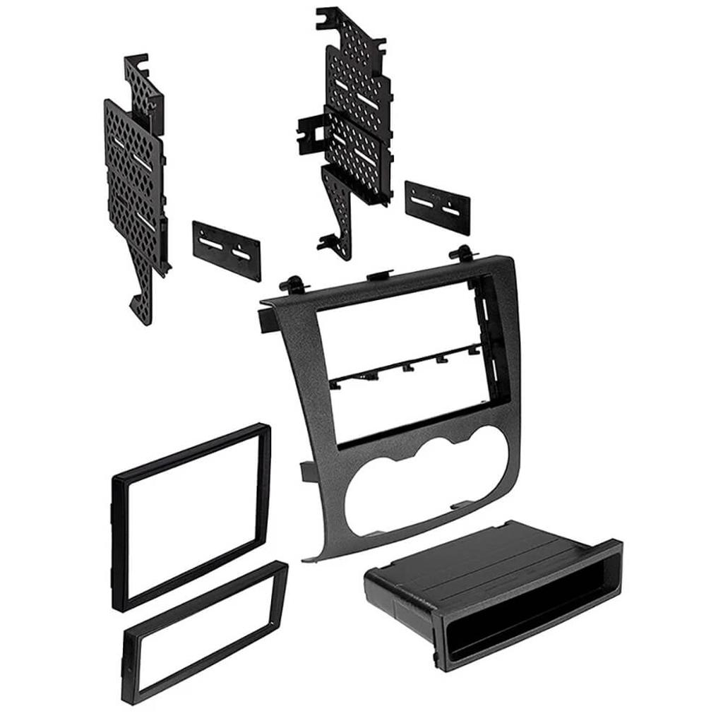 American International NDK727 2007-2013 Nissan Single/Double DIN Black Stereo Dash Kit with Pocket