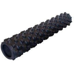 Fabrication Enterprises 30-2370 6 x 6 x 31 in. Rumble Roller - Black, X-Firm