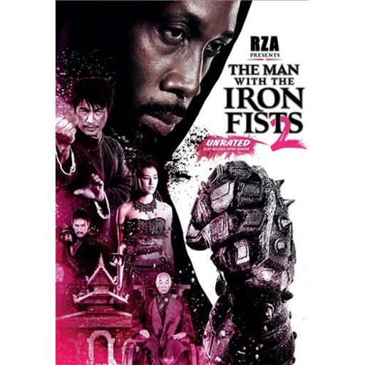 MAN WITH THE IRON FISTS 2 (DVD) 8598840624EB4DCD