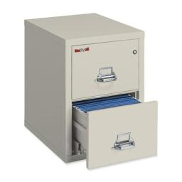 Five Star FIR21831CPA 31 in. Insulated Letter File Cabinet Steel 2-Drawer
