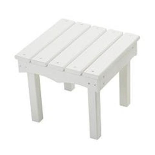 Little Colorado 142SW Childs Adirondack End Table, White