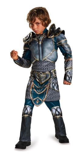 Warcraft Lothar Classic Muscle Child Costume