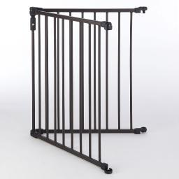 North States 4933 Bronze North States 3-In-1 Arched D????Cor Metal Superyard Two-Panel Extension Bronze 24 X 30