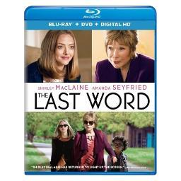 Last word (blu ray/dvd w/digital hd) BR57185276