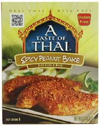 A Taste of Thai Spicy Peanut Bake