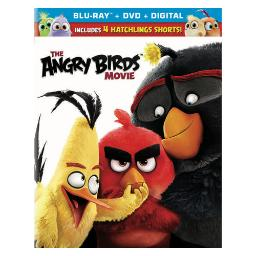 Angry birds (2016/blu-ray/dvd combo/ultraviolet) BR44692
