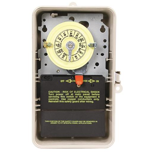 Intermatic T101P3 125V Intermatic Timer Spst 40 Amps