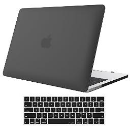 ProCase MacBook Pro 13 Case 2019 2018 2017 2016 Release A2159 A1989 A1706 A1708, Hard Case Shell Cover and Keyboard Skin Cover for MacBook Pro 13 Inch with/Without Touch Bar -Leaves