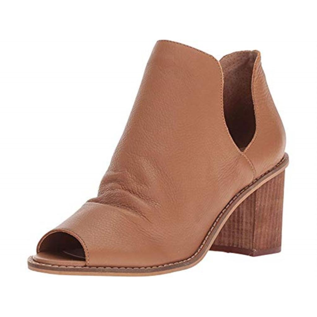 Chinese Laundry Women's Carlita Ankle Boot, Honey Leather, 6.5 M US