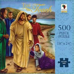 African American Expressions: The Touch (Matthew 9:20-22) 500pc Jigsaw Puzzle