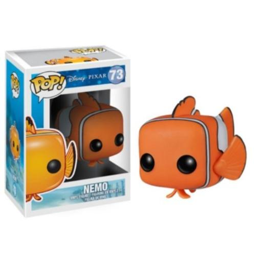 Funko Pop! Disney: Finding Nemo Action Figure One of four figures in the Finding Nemo collection from Funko*Check out other Finding Nemo figures Dory, Crush and Bruce!*Stands 3.75 Inch tall