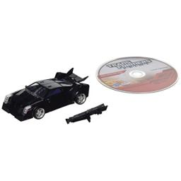 Hasbro Year 2012 Transformers Robots in Disguise Prime Series 1 Deluxe Class 6 Inch Tall Robot Action Figure #8 - Decepticon VEHICON with Blaster Cannon Plus Bonus Full Episode DVD (Vehicle Mode: Pursuit Car)