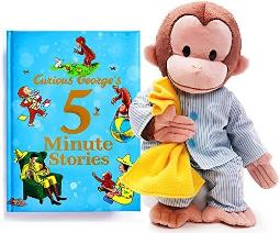 curious george bedtime stories gift Set #1 (4+ yrs)