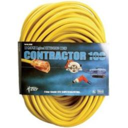 Coleman Cable 02589-00-02 15 Amp 125V AC All Weather Extension Cord 123 Length 100ft Xtra Flex