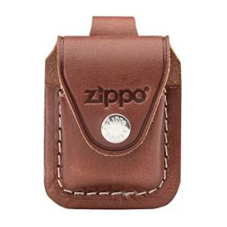 Zippo Lighter Pouch with Loop, Brown