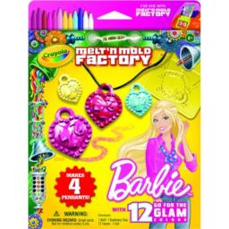 Crayola Melt N Mold Barbie Crayon Expansion Pack