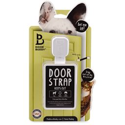 Door Buddy® Door Strap & Latch | Dog Proof Cat's Litter Box