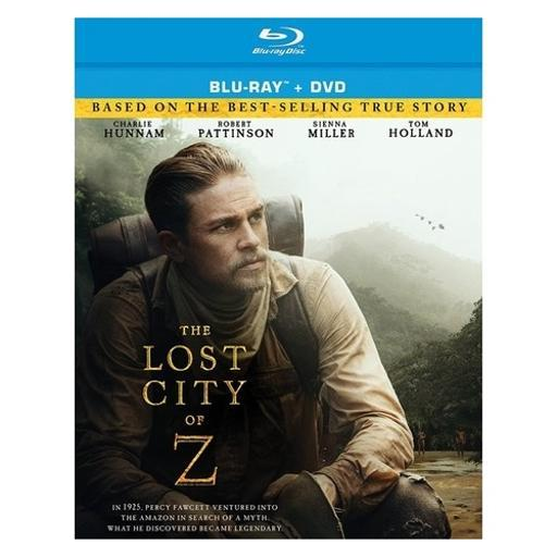 Lost city of z (blu ray/dvd combo) (2discs) NM3C2F82IH0S96GF