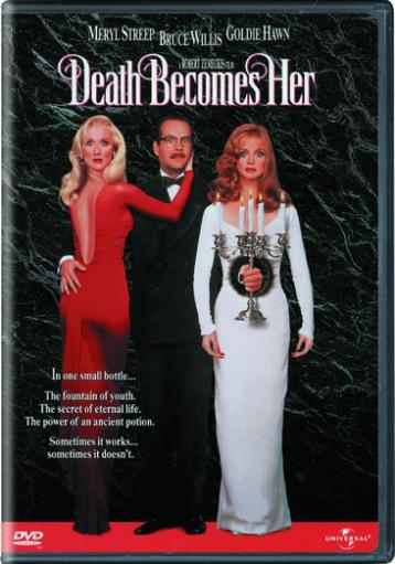 Death becomes her (dvd/keep/full/1 33:1/notes/bios/highl/parental c)