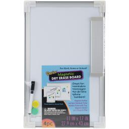 "Magnetic Dry Erase Board 11""X17"""