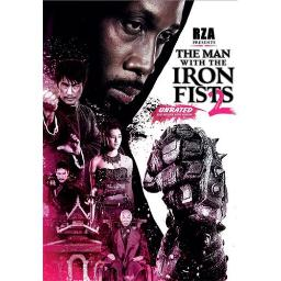 MAN WITH THE IRON FISTS 2 (DVD) 25192242694
